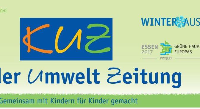 KINDER-UMWELTZEITUNG (KUZ) für die Grüne Hauptstadt Europas 2017