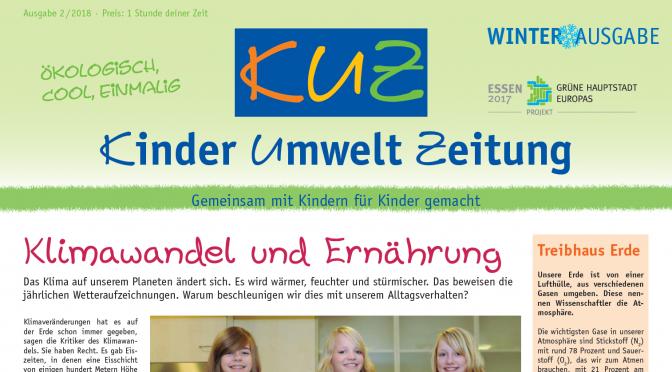 KINDER-UMWELTZEITUNG (KUZ) Winterausgabe 2018