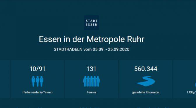 STADTRADELN in Essen – Lokale und bundesweite Endergebnisse