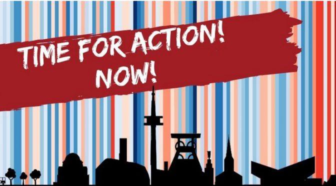 Gemeinsam für Stadtwandel – Time for Action – Now!